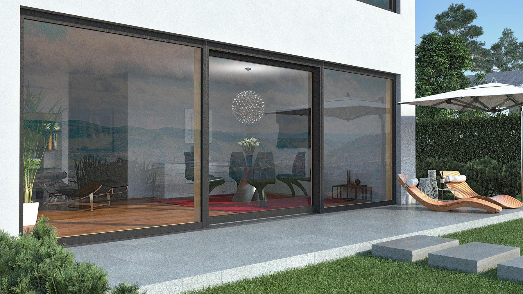 Einzigartig Fensterfront Ideen Von Anbau